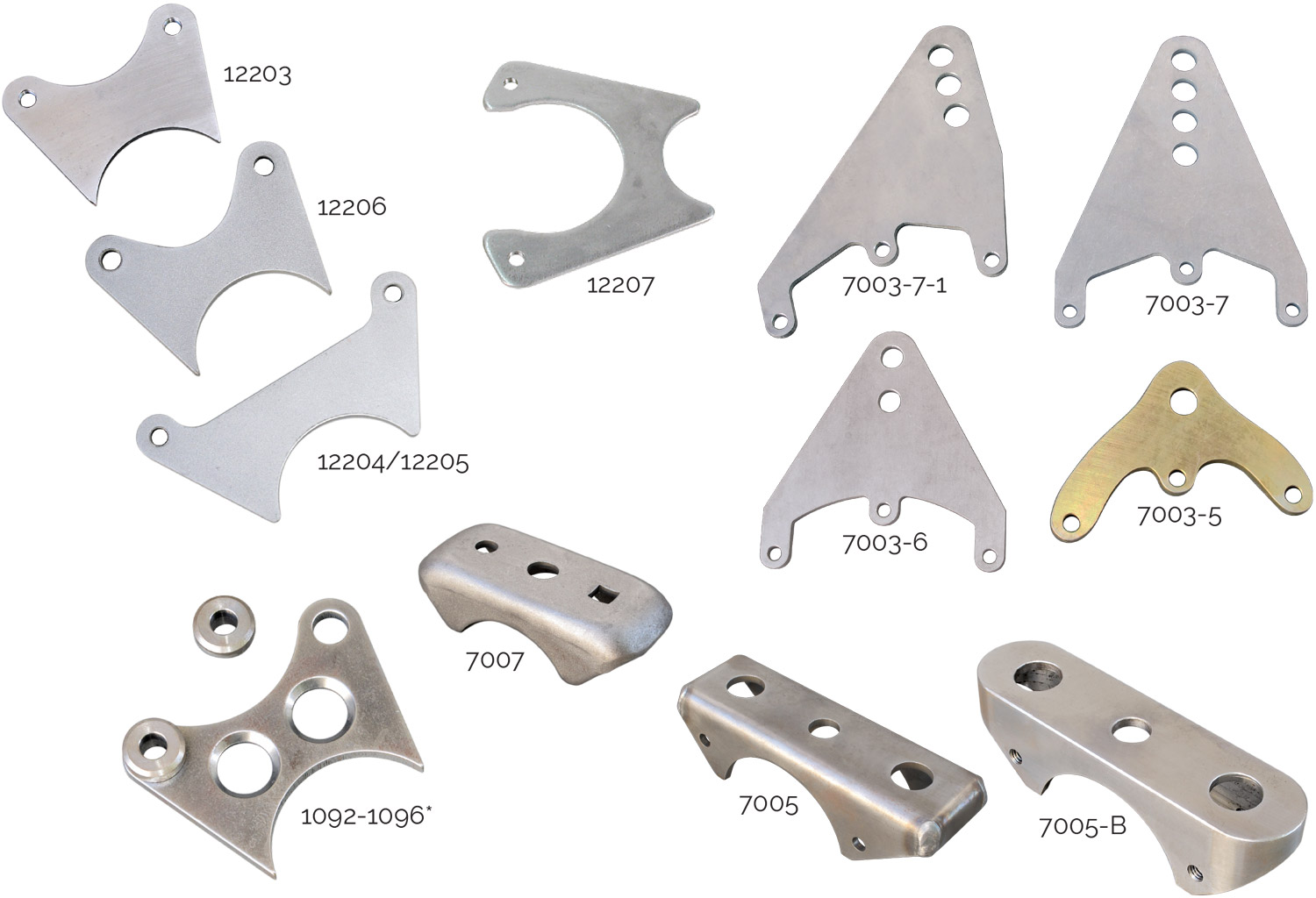 Brake Caliper Brackets, Mounting Brackets and Rear End Mounts