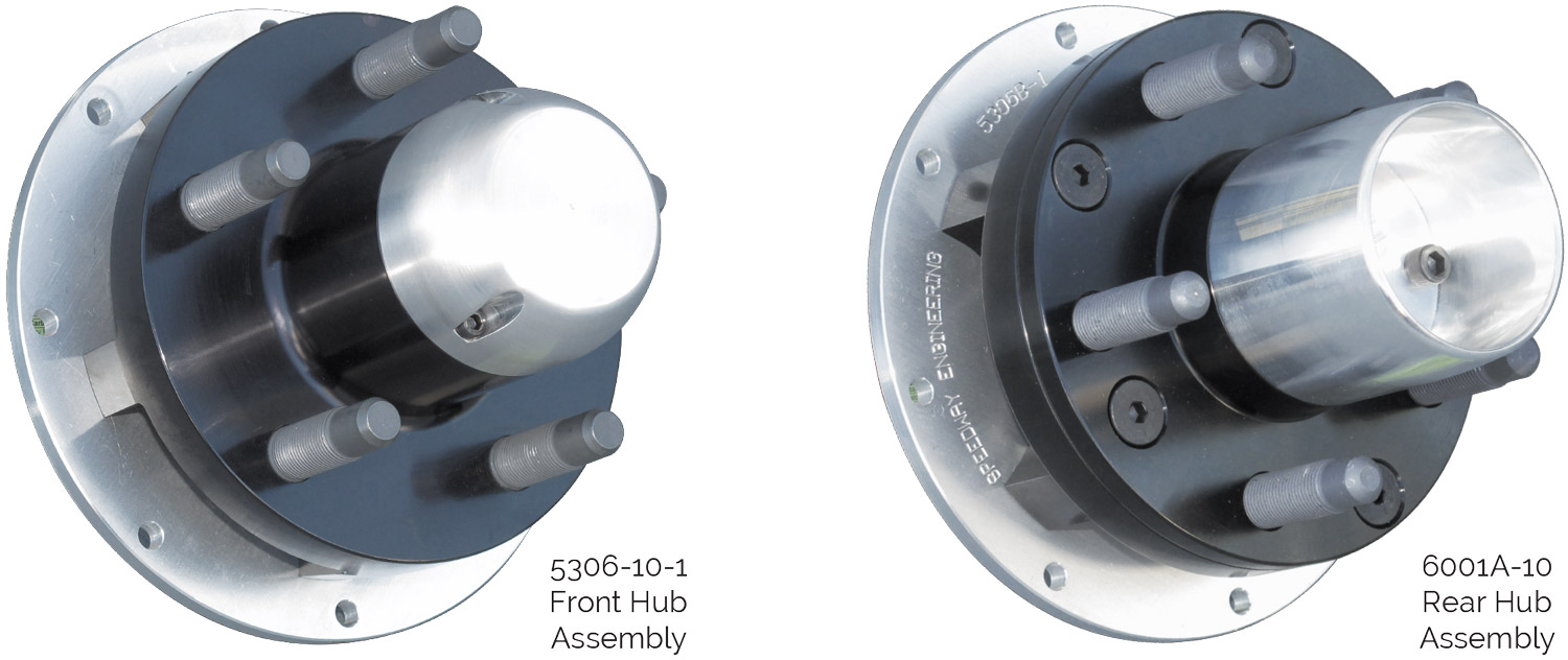 Grand National Aluminum Hubs