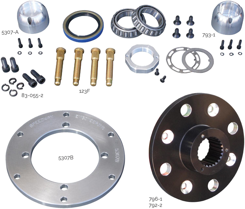 Mini Stock Hub Parts