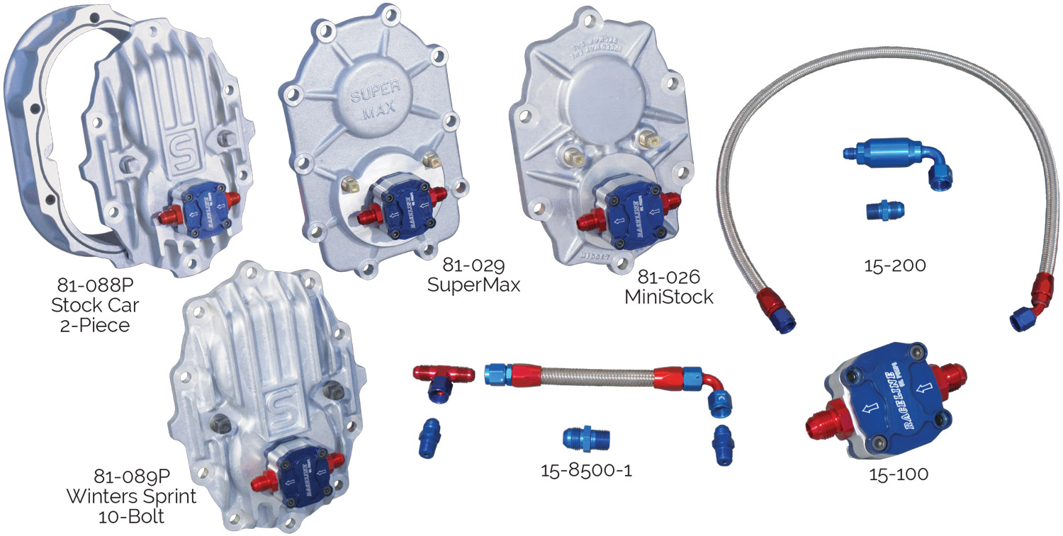 Rear Cover Oil Pumps