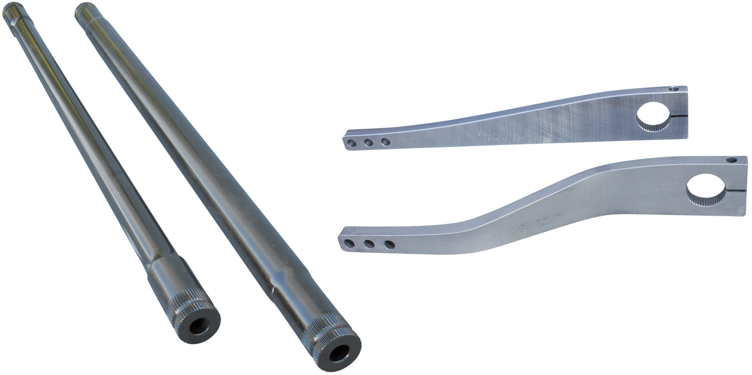 "1-3/4"" 48-Spline NASCAR Sway Bars and Arms"